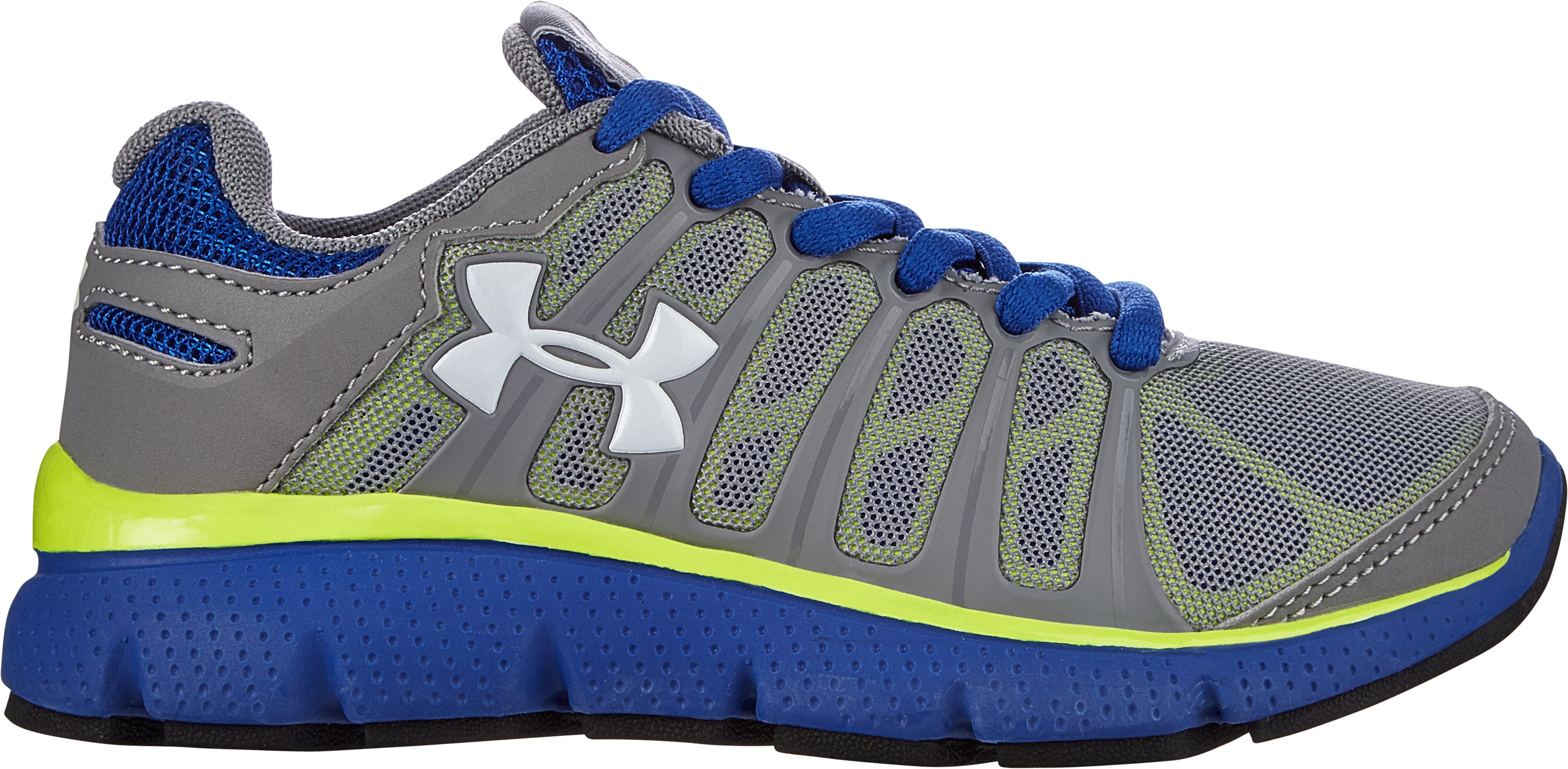 Boys' Pre-School UA Pulse II Shoes, Steel