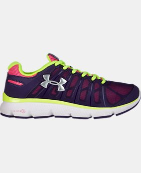 Girls' Grade School UA Micro G® Pulse II Running Shoe