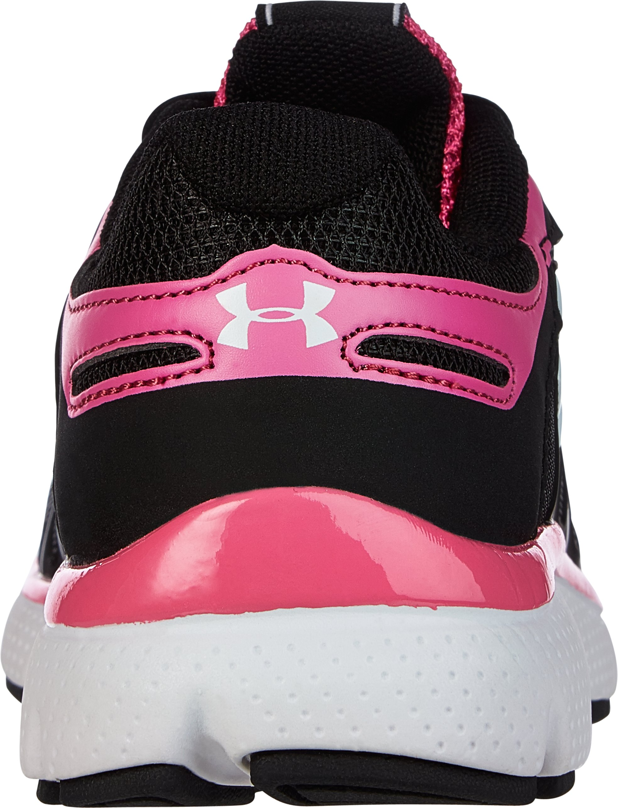 Girls' Pre-School UA Pulse II Running Shoe, Black , undefined