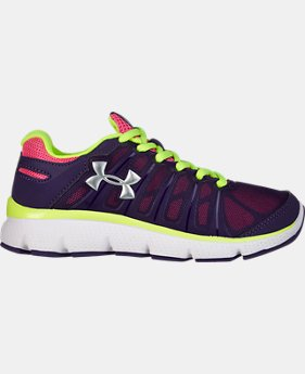 Girls' Pre-School UA Pulse II Running Shoe   $41.99
