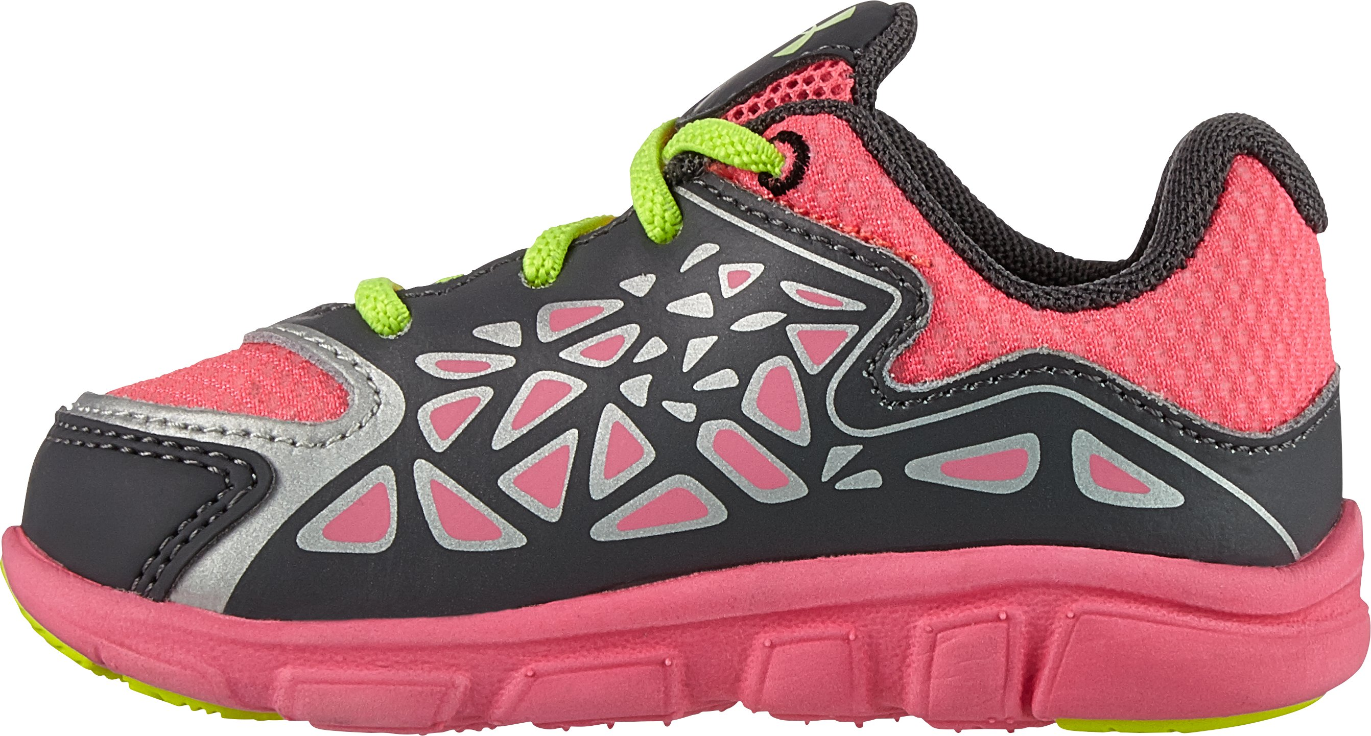 Girls' Infant UA Spine Surge Running Shoe, Graphite,