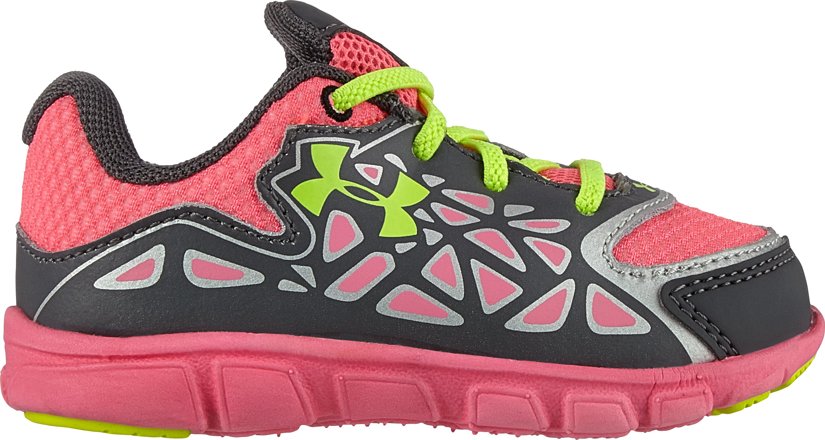 Girls' Infant UA Spine Surge Running Shoe, Graphite