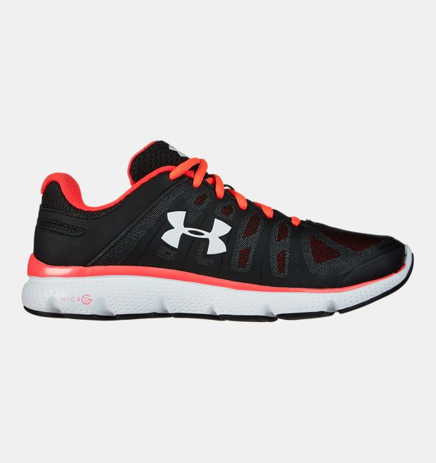 Best Place Men Under Armour Micro G Pulse Running Shoes Black - C3T5302746