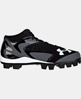 Boys' UA Leadoff Mid Jr RM Baseball Cleats