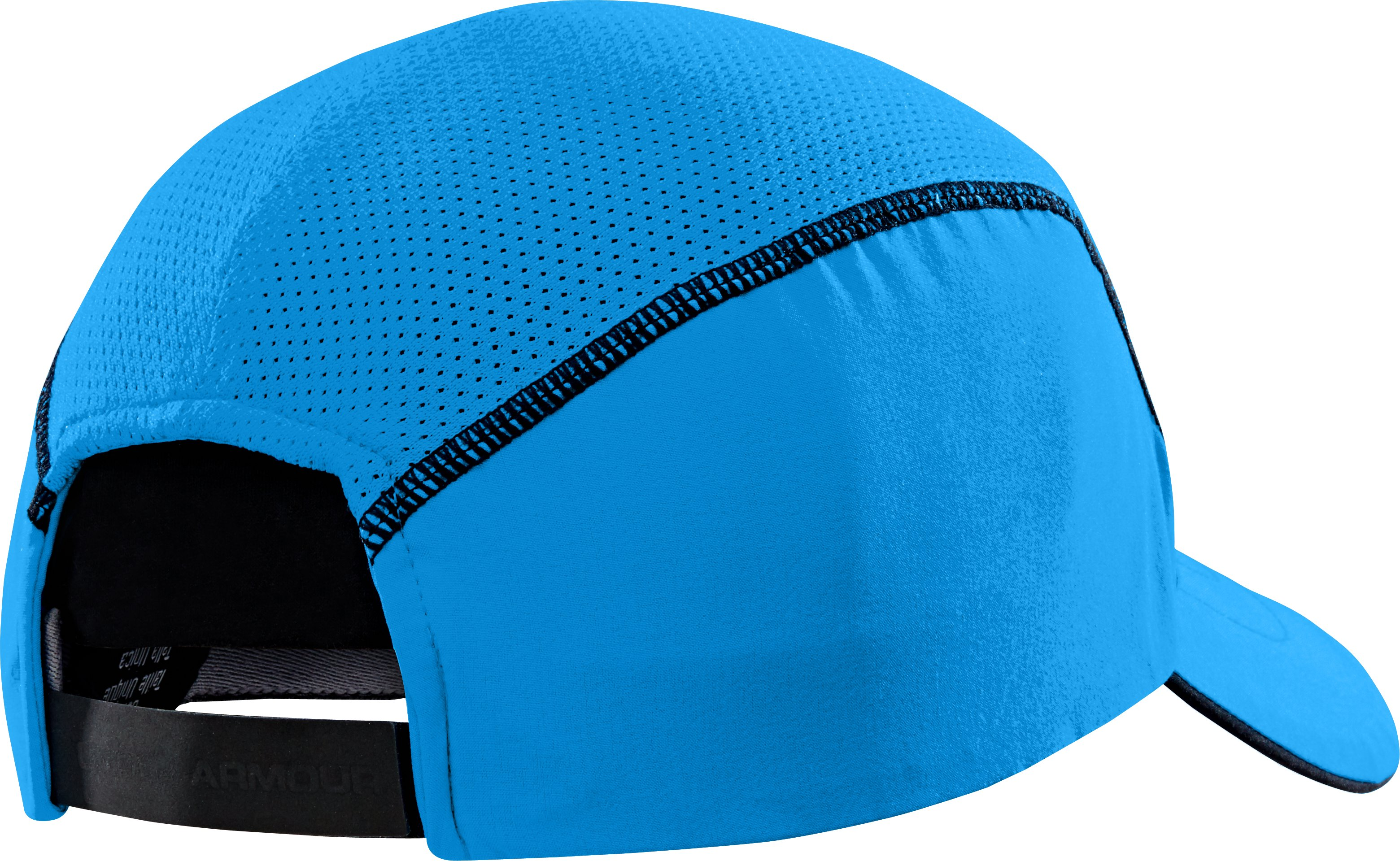 Men's UA Run Adjustable Cap, ELECTRIC BLUE