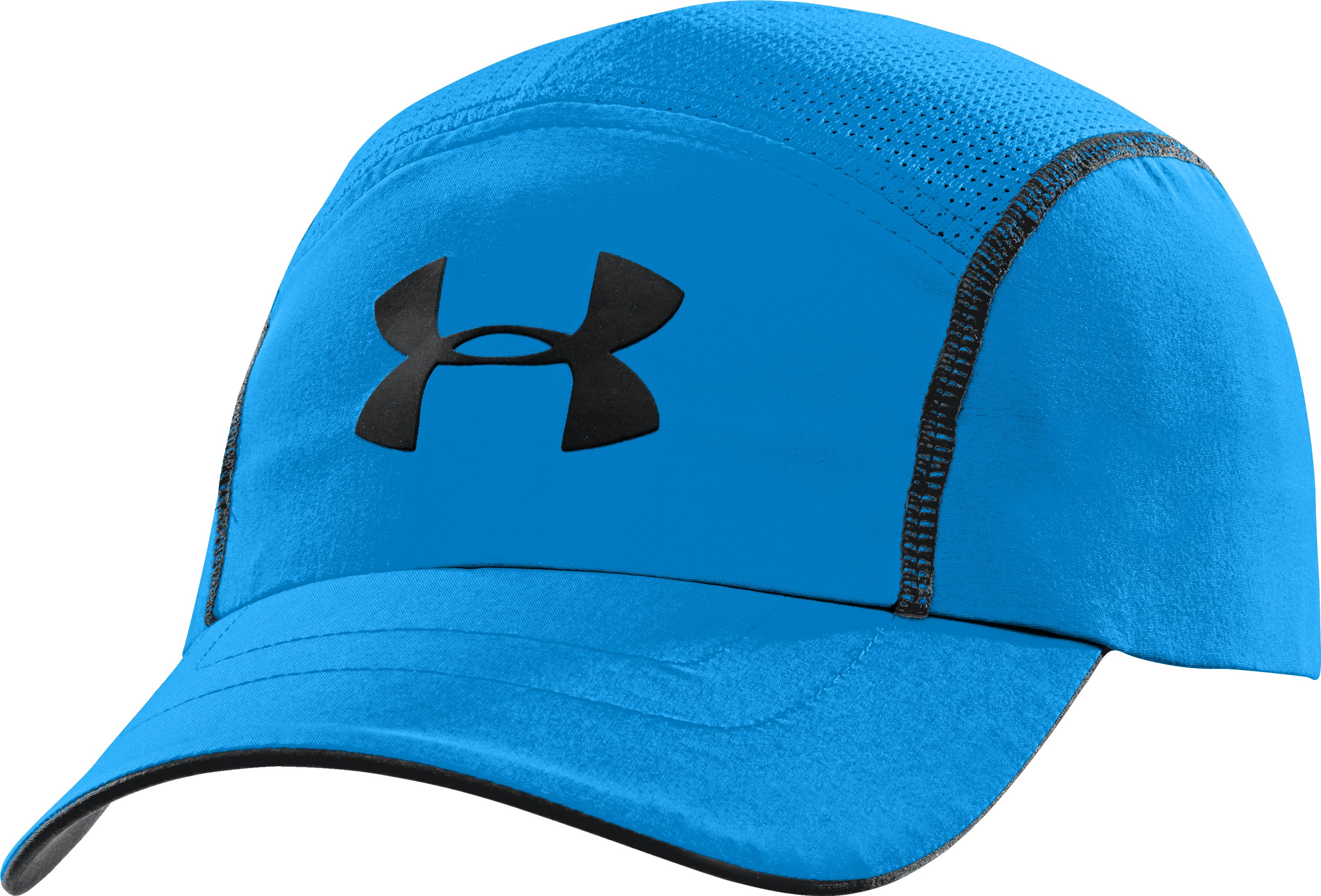 Men's UA Run Adjustable Cap, ELECTRIC BLUE, zoomed image
