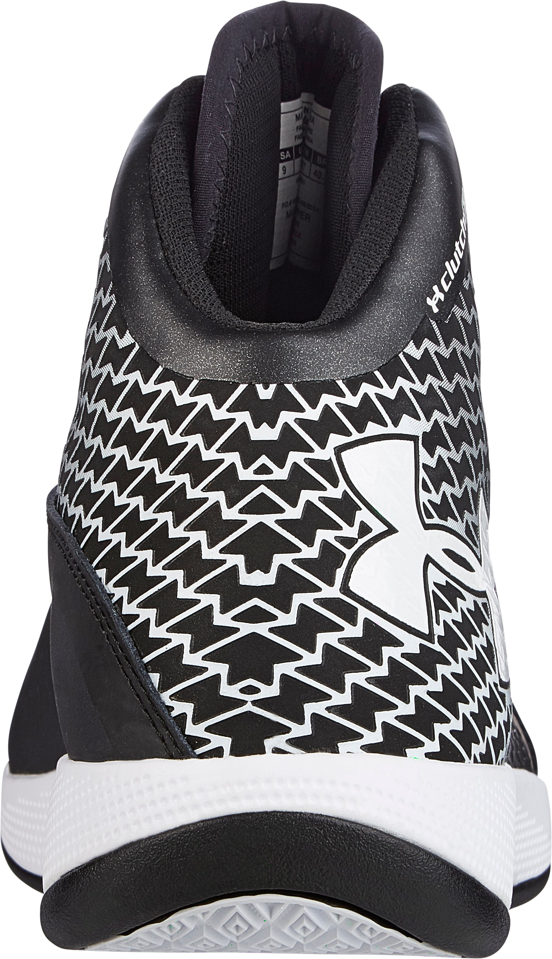 Men's UA Micro G® Torch Basketball Shoes, Black , undefined
