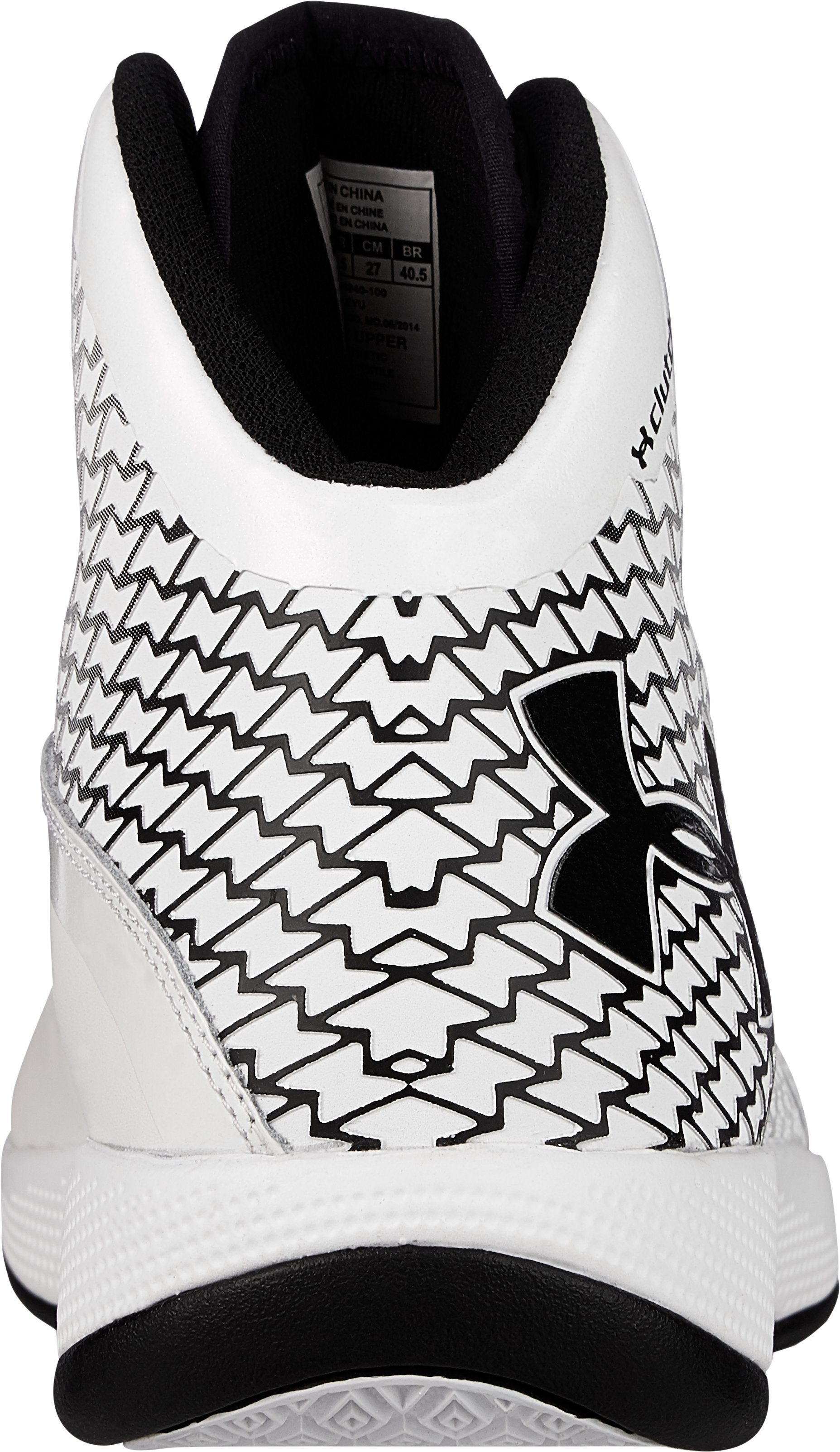 Men's UA Micro G® Torch Basketball Shoes, White