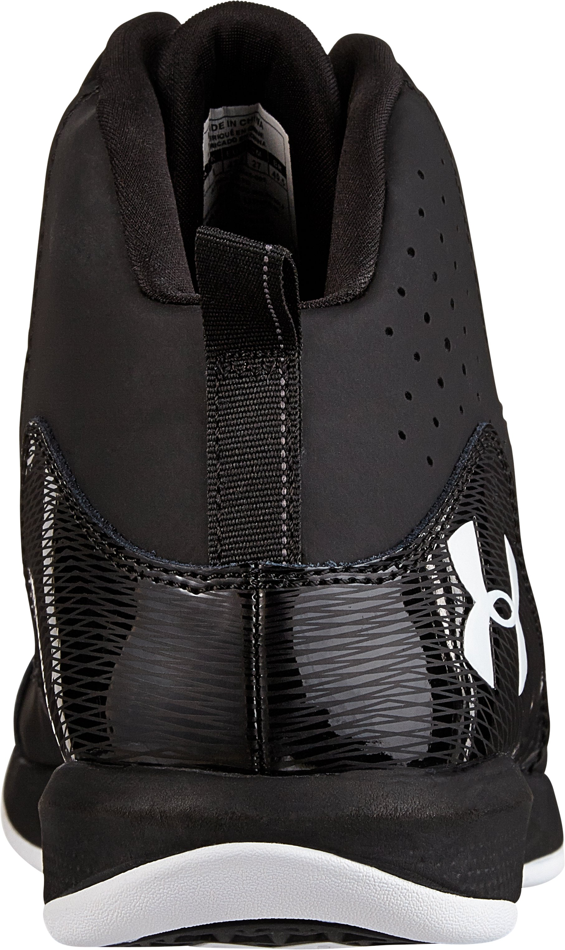 Men's UA Jet Basketball Shoes, Black , undefined