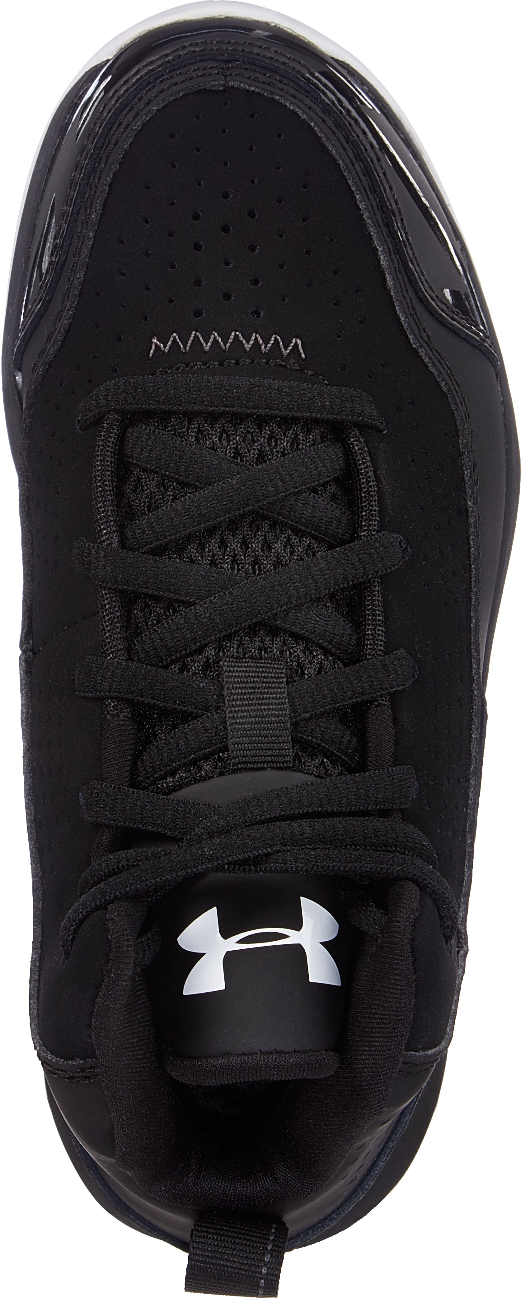 Boys' UA Jet Pre-School Basketball Shoes, Black , undefined