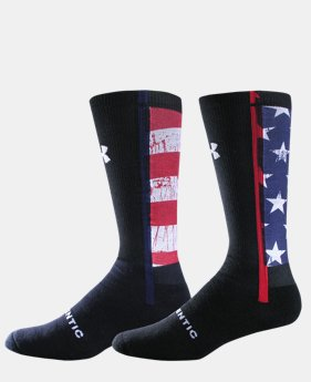 UA Stars & Stripes Crew Socks