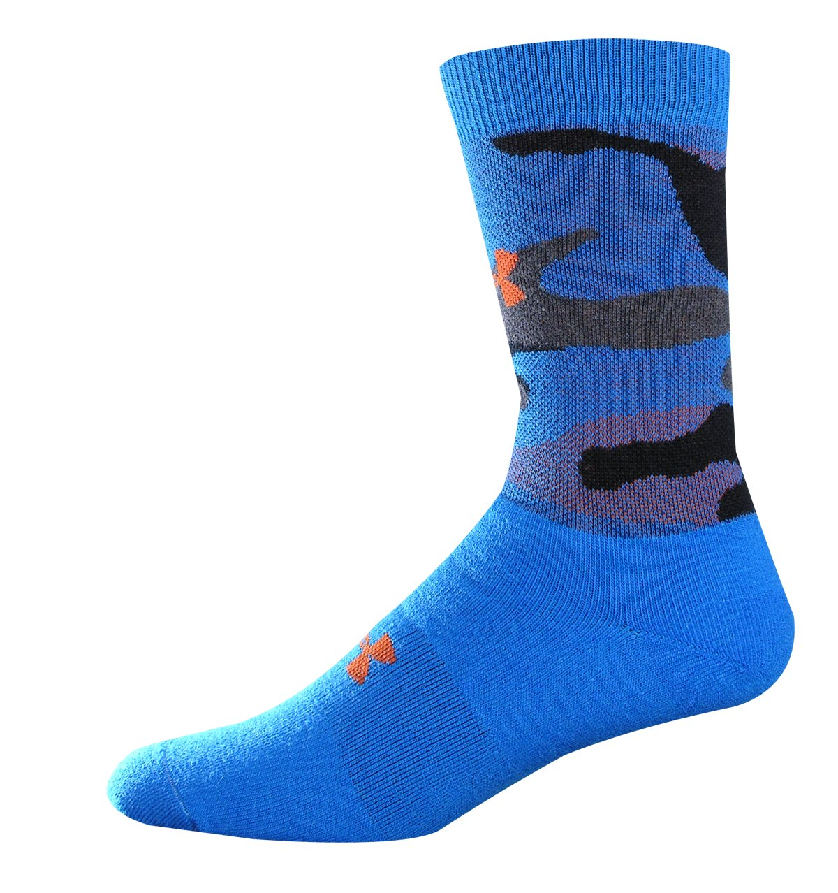 Youth UA Camo Crew Socks, SNORKEL