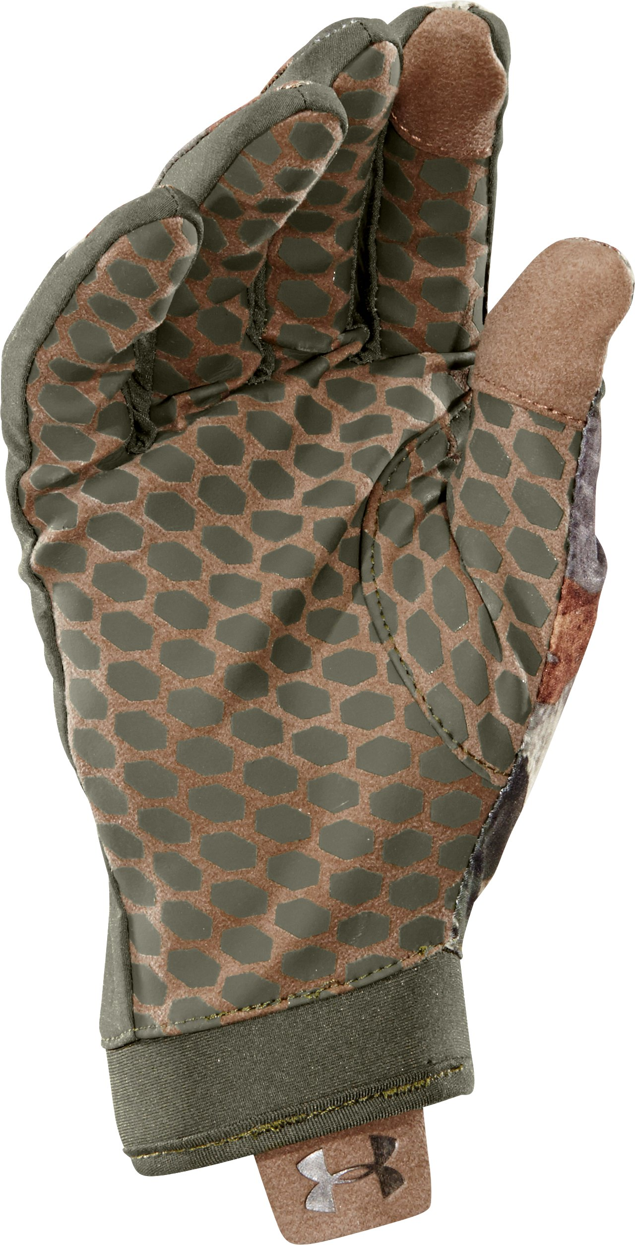Men's UA Anchor Point Gloves, Mossy Oak Treestand, undefined