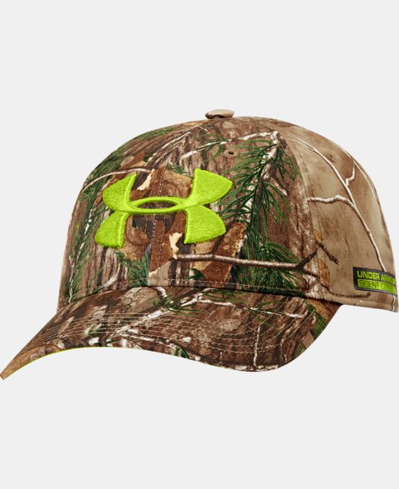 Men's UA Scent Control Camo Cap LIMITED TIME: FREE SHIPPING 1 Color $26.99