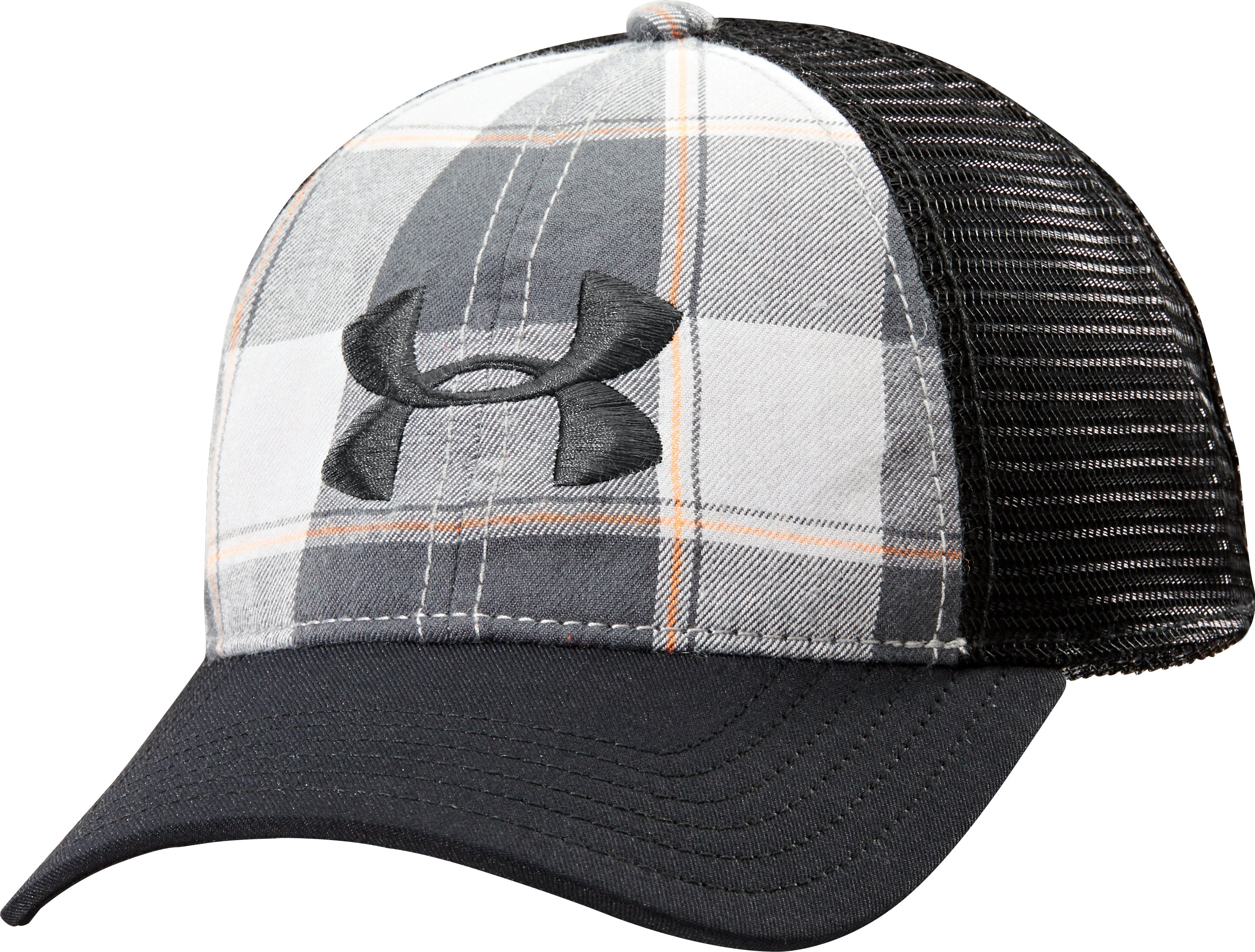 Men's UA Flannel Cap, Aluminum