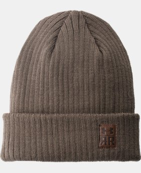 Men's UA Ridge Reaper Beanie  1  Color Available $33.74