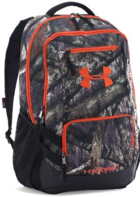 UA Camo Hustle Backpack
