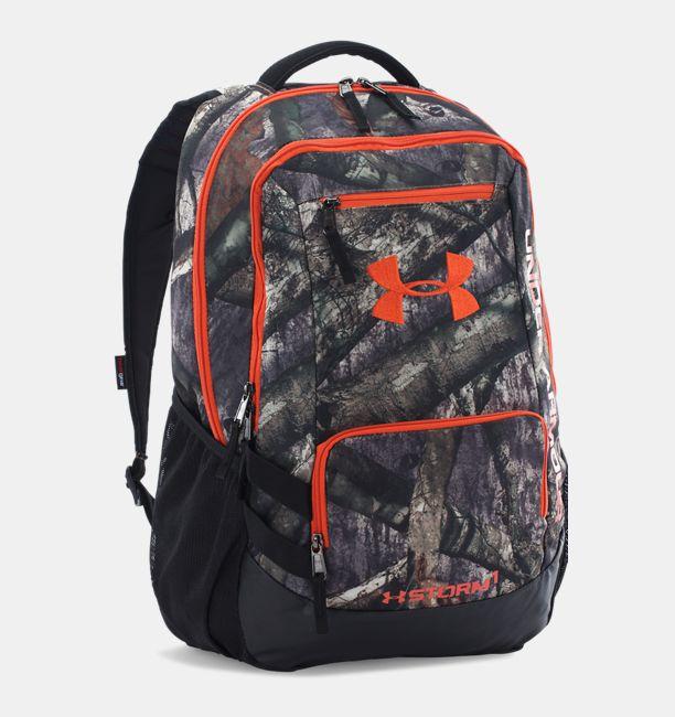 Ua Camo Hustle Backpack Mossy Oak Treestand