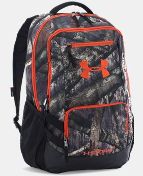 UA Camo Hustle Backpack