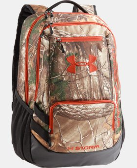 UA Camo Hustle Backpack   $69.99