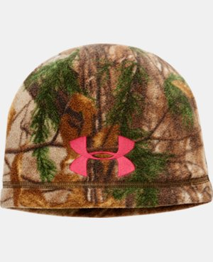 Women's UA ColdGear® Infrared Scent Control Camo Beanie  1 Color $15.74