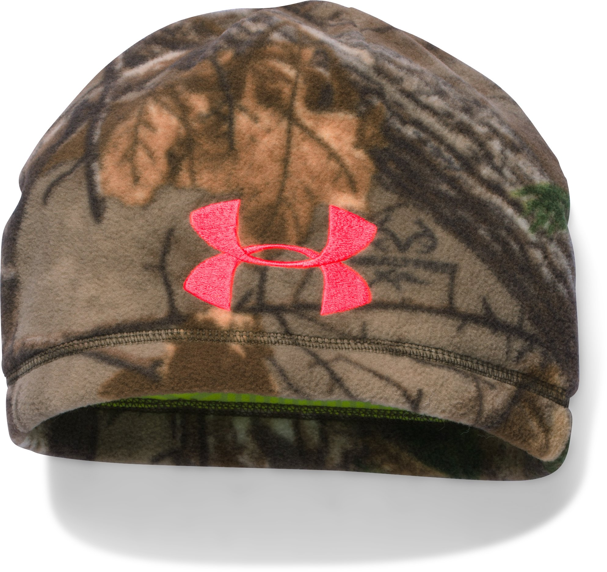 Women's UA ColdGear® Infrared Scent Control Camo Beanie, REALTREE AP-XTRA
