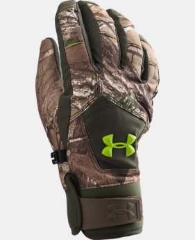 Boys' UA Scent Control ColdGear® Infrared Primer Gloves