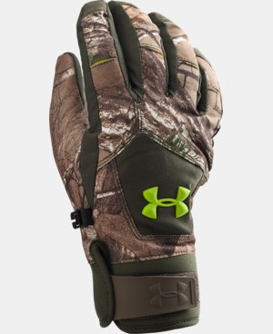 Boys' UA Scent Control ColdGear® Infrared Primer Gloves LIMITED TIME: FREE SHIPPING 1 Color $39.74