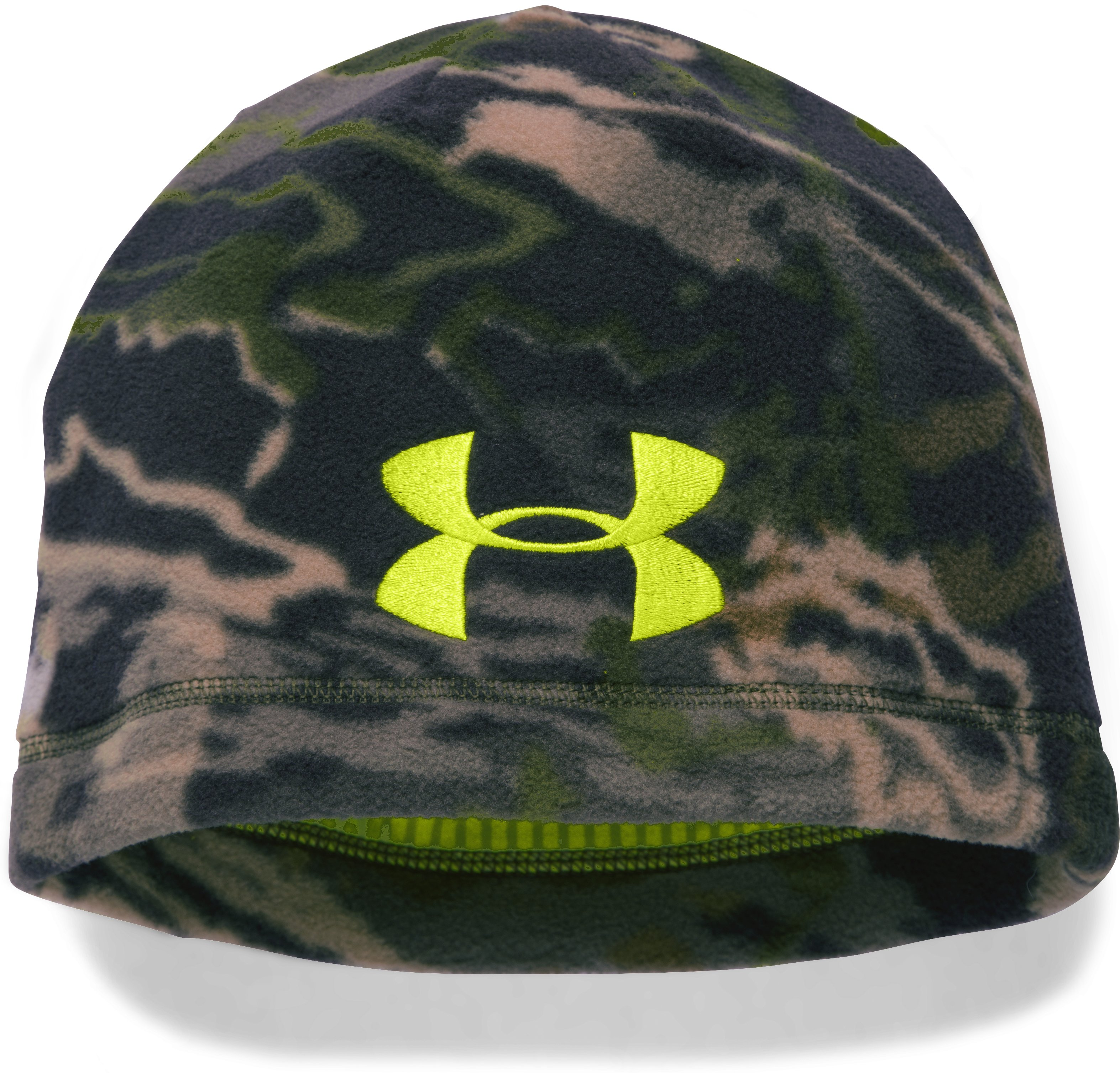 Boys' UA Scent Control ColdGear® Infrared Beanie, RIDGE REAPER® FOREST