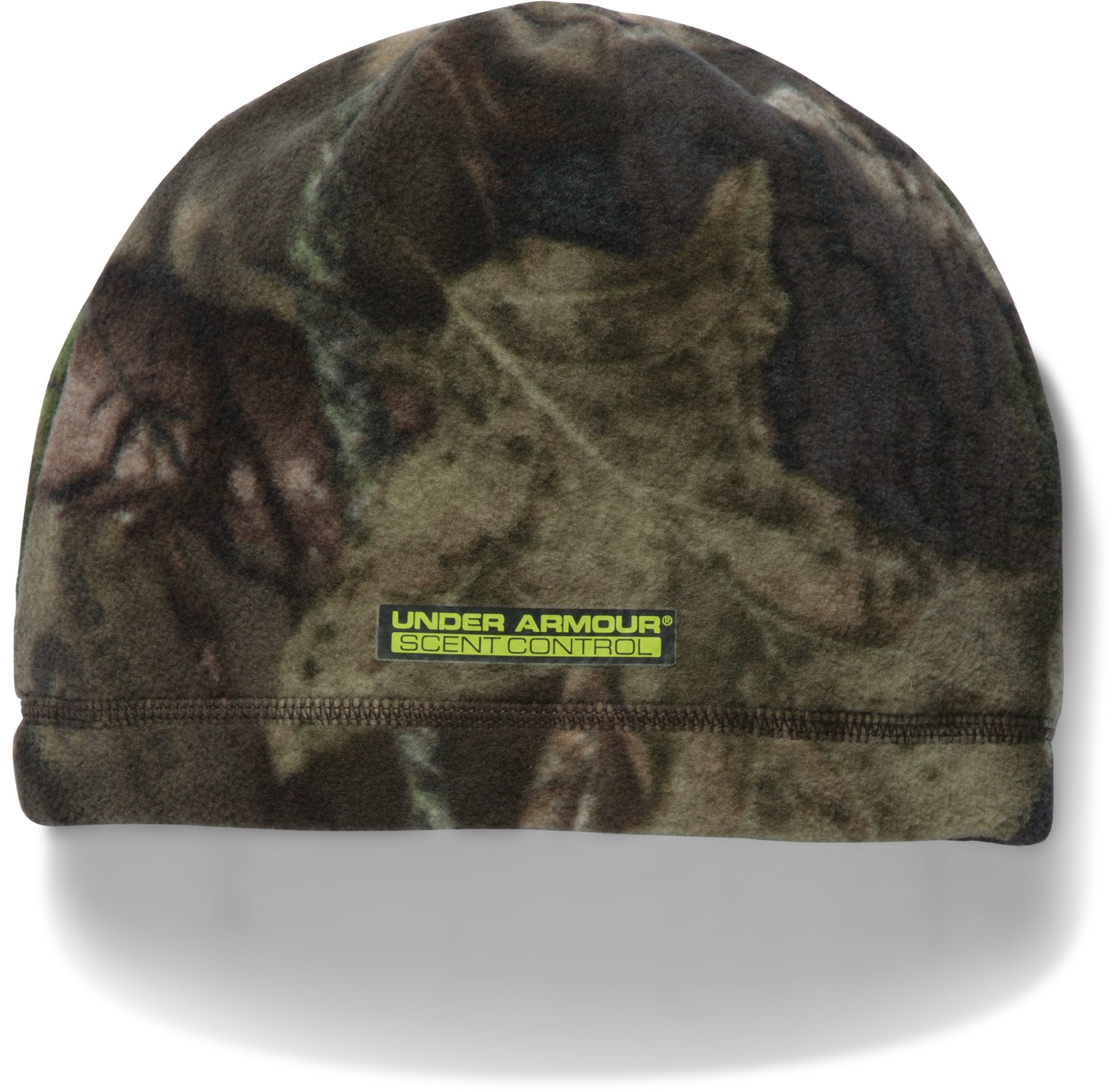 Men's UA Scent Control ColdGear® Infrared Beanie, MOSSY OAK OPEN COUNTRY, undefined