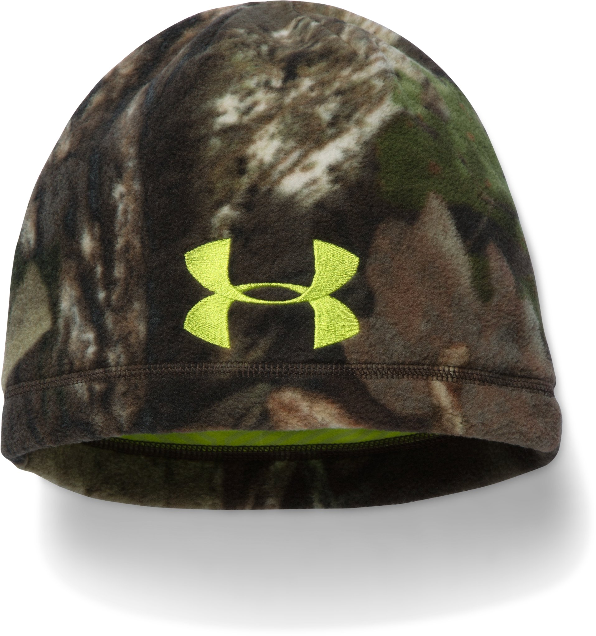 Men's UA Scent Control ColdGear® Infrared Beanie, MOSSY OAK OPEN COUNTRY