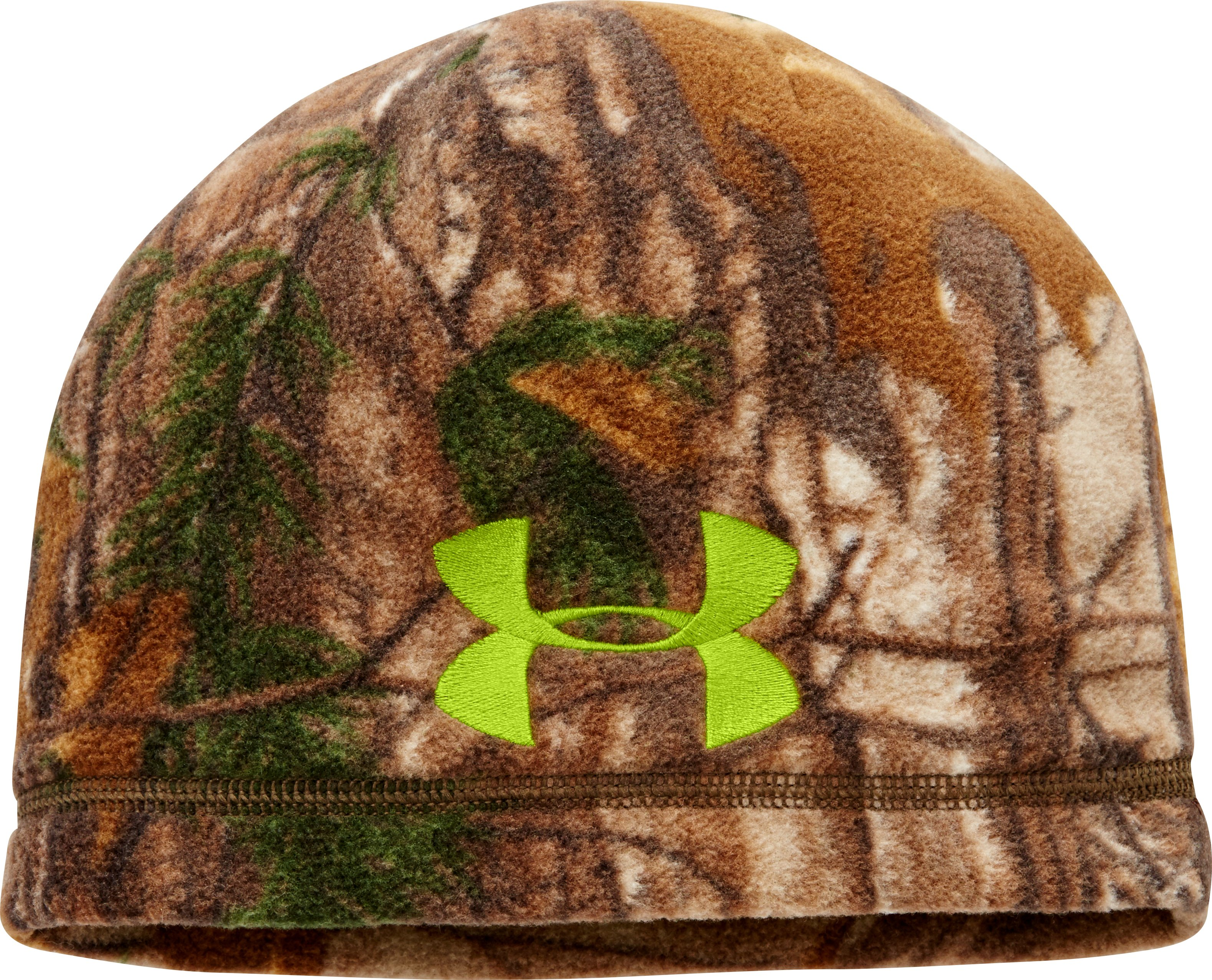 Men's UA Scent Control ColdGear® Infrared Beanie, REALTREE AP-XTRA, undefined