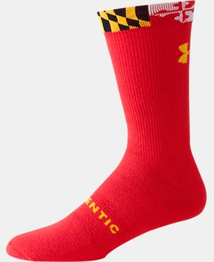 UA Maryland Flag Crew Socks LIMITED TIME: FREE U.S. SHIPPING 1 Color $9.99
