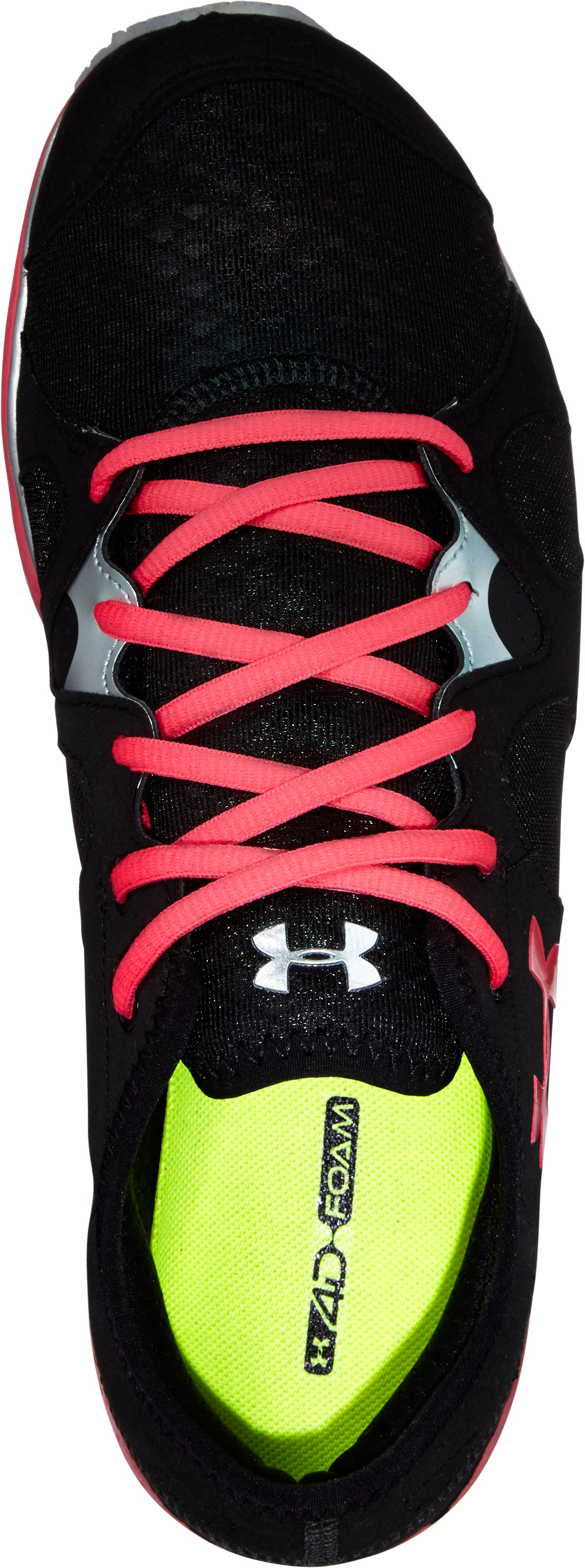 Women's UA Micro G® Neo Mantis Running Shoes, Black , undefined