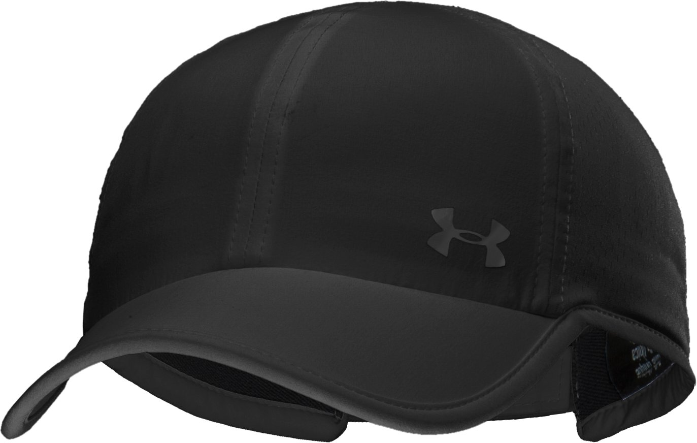 Women's UA ArmourVent™ Adjustable Hat, Black