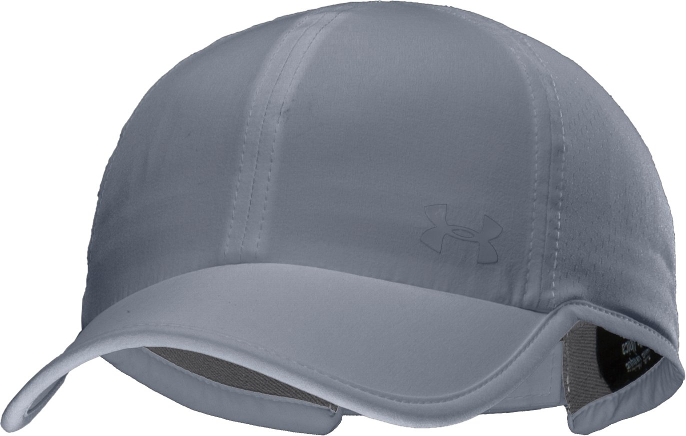 Women's UA ArmourVent™ Adjustable Hat, Steel, zoomed image