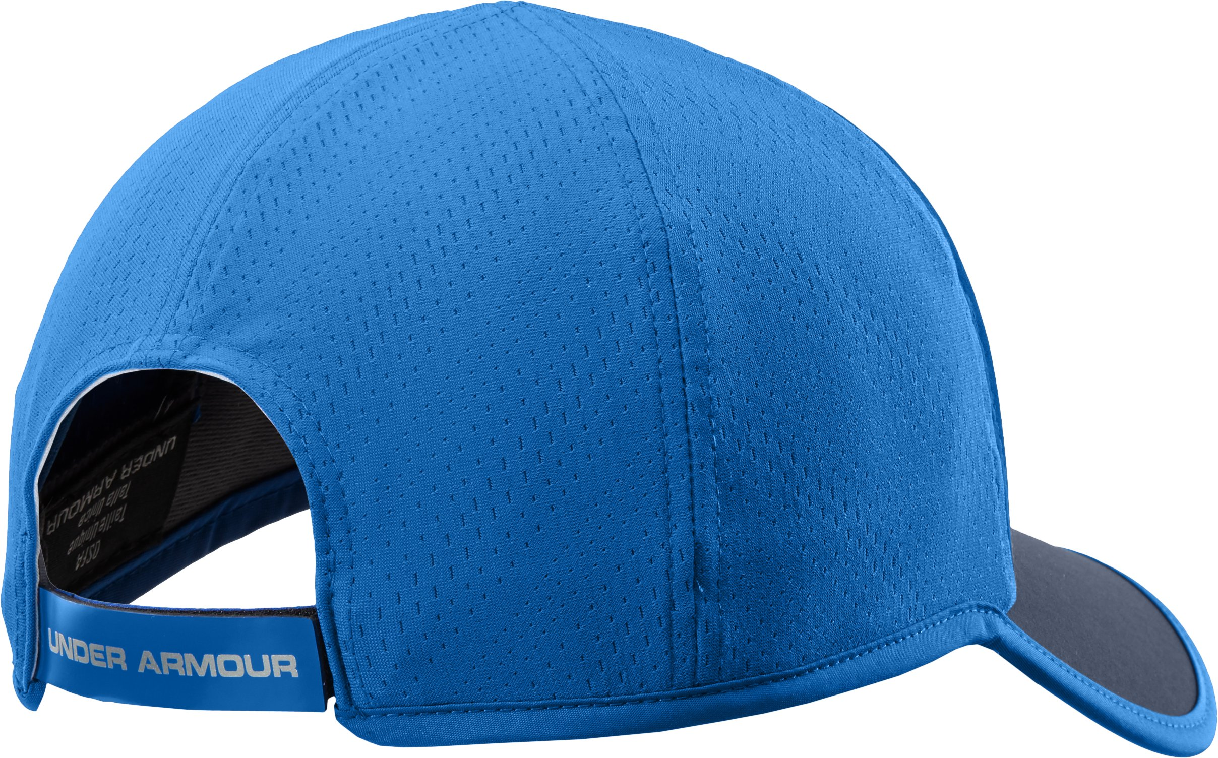 Men's HeatGear® ArmourVent™ Adjustable Cap, Academy, undefined