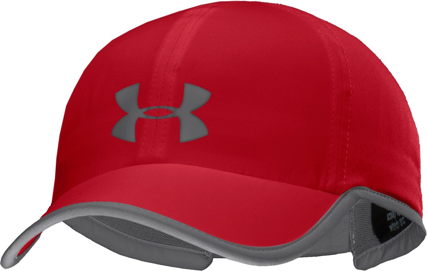 Men's HeatGear® ArmourVent™ Adjustable Cap, Red, zoomed image