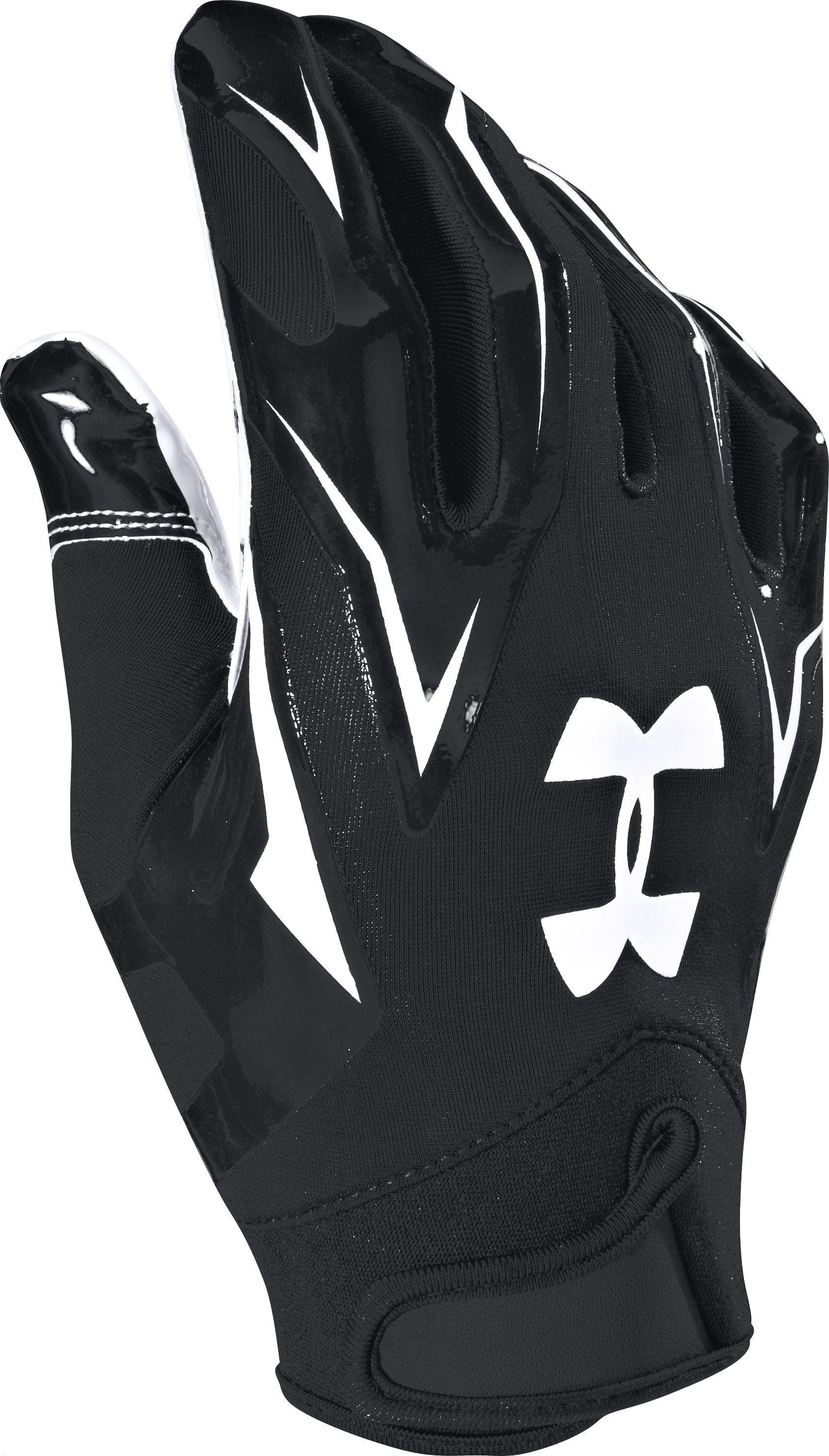 Men's UA F4 Football Gloves, Black