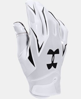 Men's UA F4 Football Gloves LIMITED TIME: FREE SHIPPING 1 Color $29.99