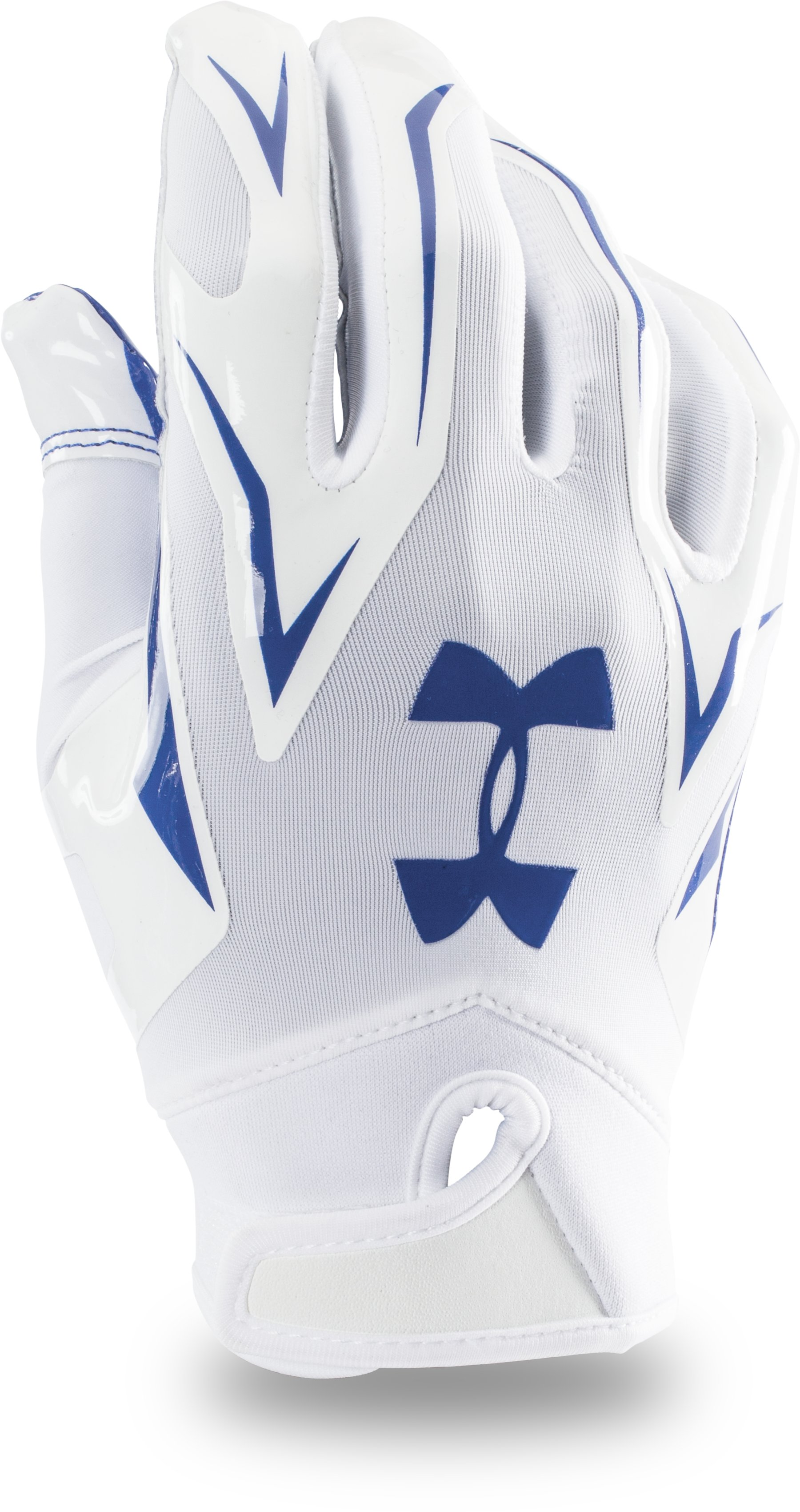 Men's UA F4 Football Gloves, Royal, undefined