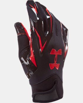 Men's UA F4 Football Gloves  1 Color $20.99 to $26.99