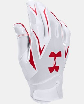 Men's UA F4 Football Gloves  2 Colors $20.99 to $26.99