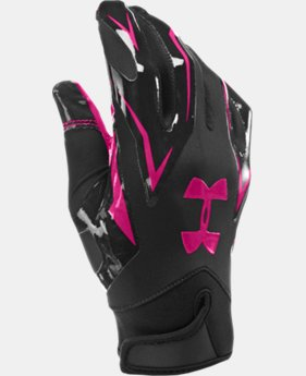 Men's UA F4 Football Gloves  1 Color $20.99