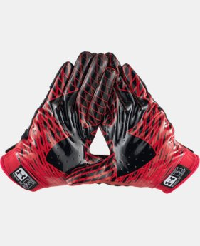 Men's UA Nitro Warp Football Gloves LIMITED TIME: FREE U.S. SHIPPING 1 Color $26.99