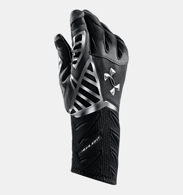 Sport Chek Heated Gloves: Men's UA Nitro Warp Highlight Football Gloves