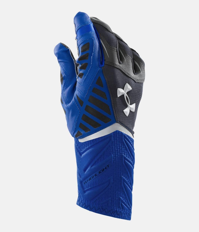 Men S Ua Nitro Warp Highlight Football Gloves Under