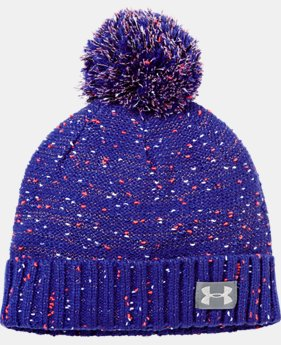 Girls' UA Speckle Beanie LIMITED TIME: FREE U.S. SHIPPING 1 Color $24.99