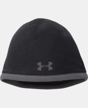 Men's UA ColdGear® Infrared Storm Beanie  2 Colors $29.99