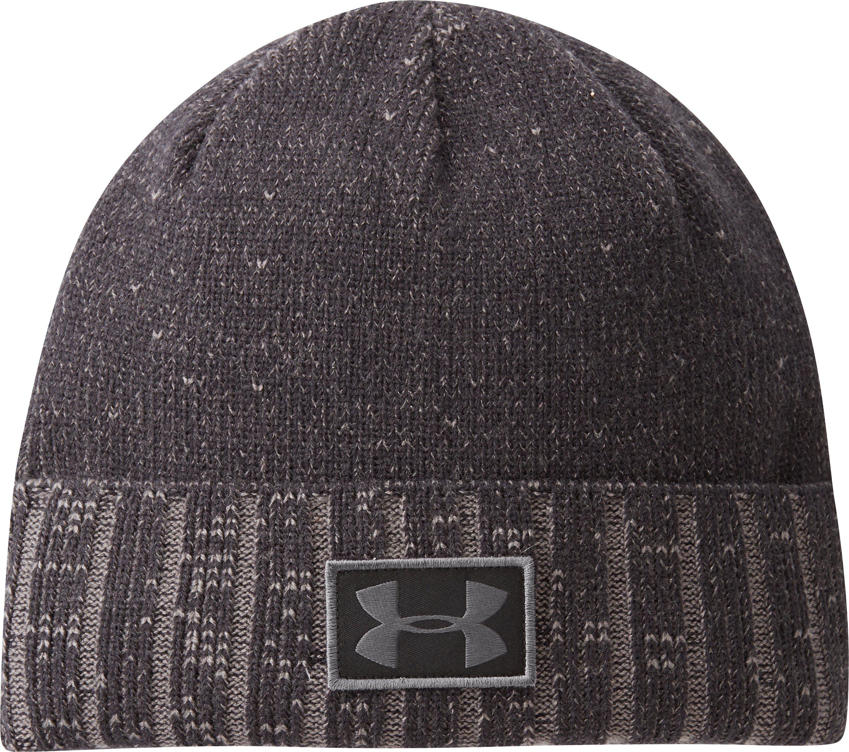 Men's UA ColdGear® Infrared Cuff Beanie, Black , zoomed image
